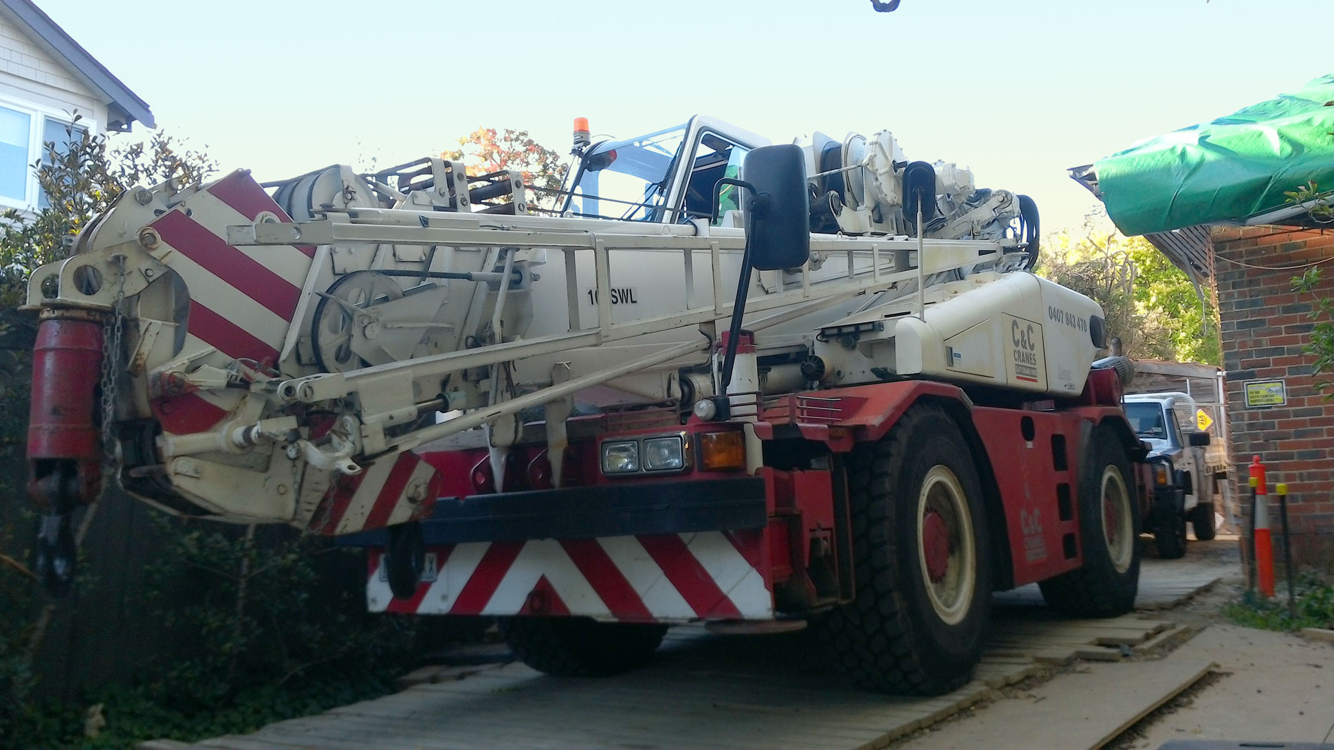 Mobile Crane Services Melbourne